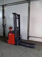 Штабелер электрический поводковый LINDE L16 1.6т 4.7м 2007р. Гарантия
