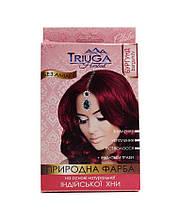 Краска натуральная для волос Triuga Бургунд на основе хны, Триюга  25 г