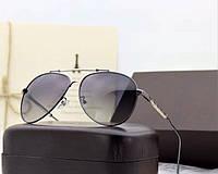 Мужские солнцезащитные очки с поляризацией в стиле Louis Vuitton (0906) grey