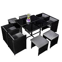 Комплект садовой мебели плетеной из ротанга ENRE