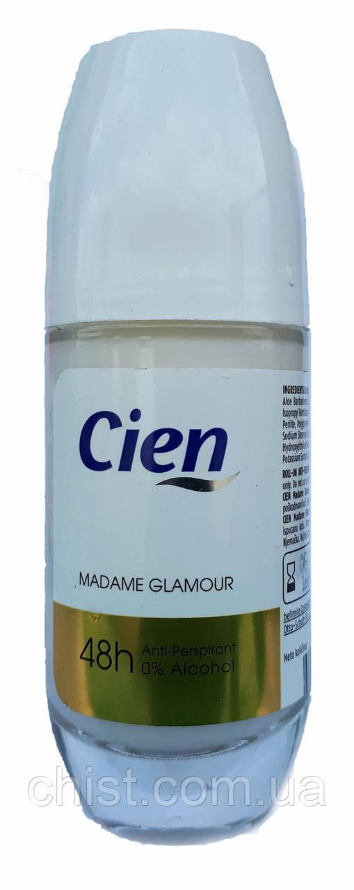 Cien дезодорант роликовый (50 мл)(стекло) Madame Glamour