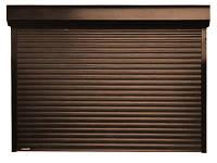 Роллетные ворота для гаража Aluproff 77 мм с автоматическим управлением, фото 1