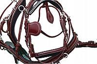 Упряж шкіряна для одного коня, фото 1