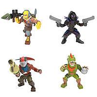 Набір ігрових фігурок Fortnite – Раптор, Ворон, Рекс, Повелитель Іржі (63519)