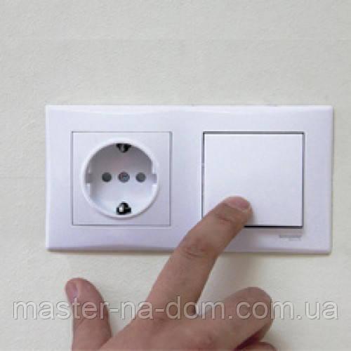 Монтаж розеток, вимикачів у Луцьку, фото 1