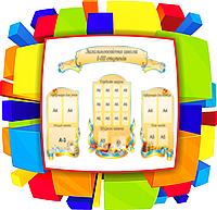 Стенды для оформления школьного холла. Гордость школы.