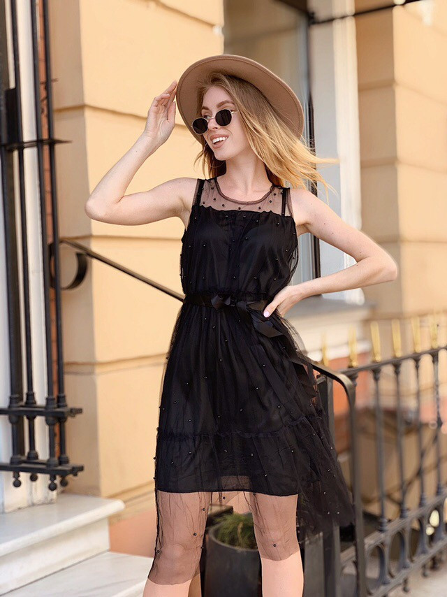 женское летнее платье интернет