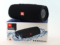 JBL Charge 4+ 20W AAA top реплика, портативная колонка с Bluetooth FM MP3, черная