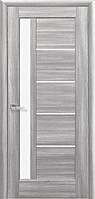 Двери межкомнатные Новый Стиль Грета (Стекло сатин) ПВХ DeLuxe