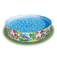 "Каркасный бассейн  ""Океан"" 56452  Intex 183x38 см KK"