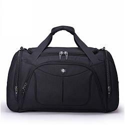 Дорожная сумка спортивная 55 л Aoking черная