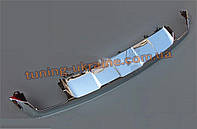 Передняя и задняя накладки на Mercedes GLK klass X204 2008-2012
