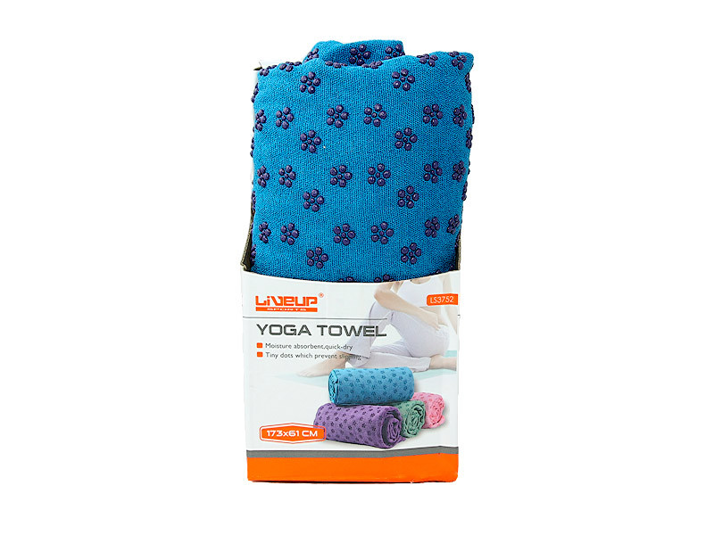 Полотенце для йоги LiveUp YOGA TOWEL, LS3752