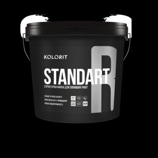 Фасадна структурна фарба Kolorit Standart R 4.5л