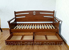 """Белый деревянный диван от производителя """"Луи Дюпон - 2"""", фото 3"""
