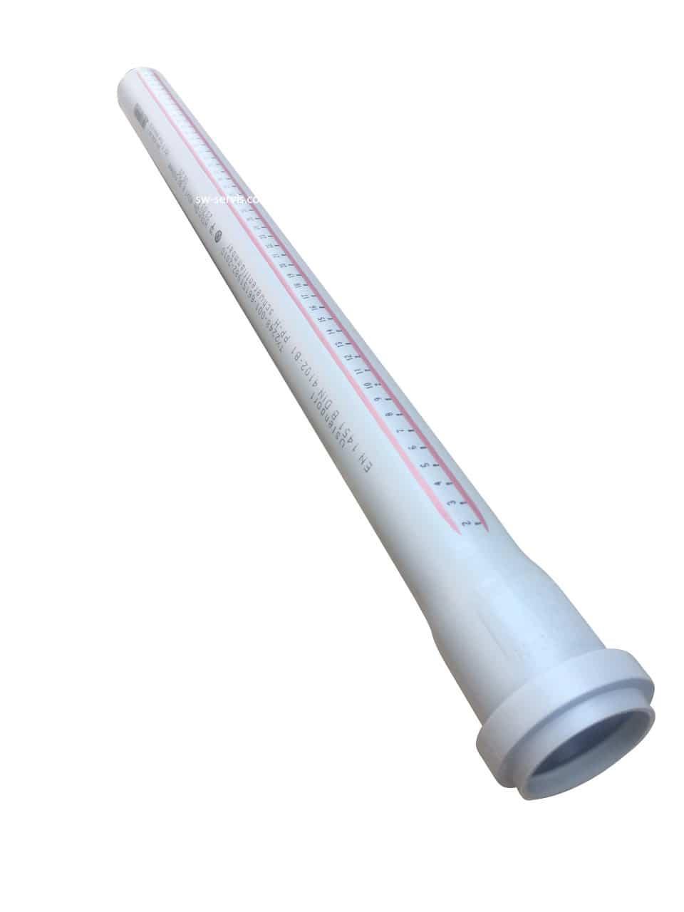 Труба для каналізації 40*2000 мм Ostendorf HT