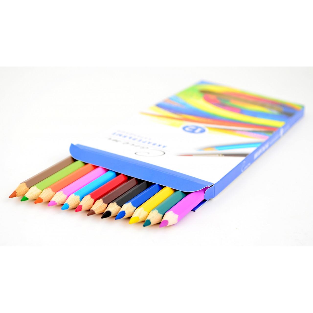 """Набір акварельних олівців """"Сонет"""" 18 кольорів"""