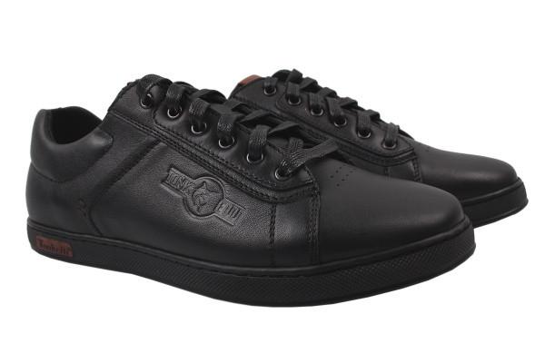 Туфли комфорт Tonkelli натуральная кожа, цвет черный