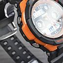 Годинник Skmei 0931, чорний-орнажевая окантовка, в металевому боксі, фото 7