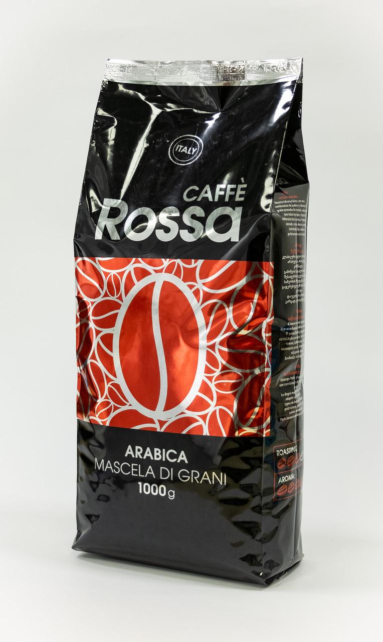 Кофе в зернах Ricco Rossa красный 1 кг 10% арабики 90% робусты
