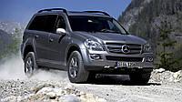 Чем отличается первая версия Mercedes-Benz GL X164 от рестайлинга