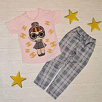 Костюм для дівчинки LOL р.86-92 / Стильный костюм для девочки