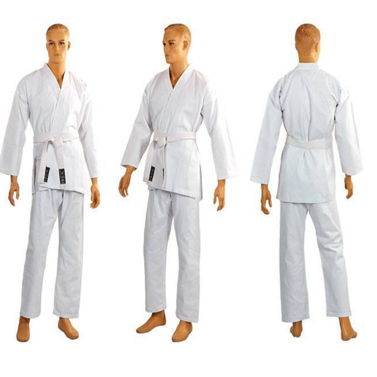 Кимоно для каратэ белое MATSA (РОСТ 180)