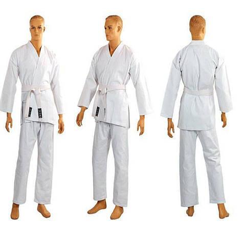 Кимоно для каратэ белое MATSA (РОСТ 180), фото 2