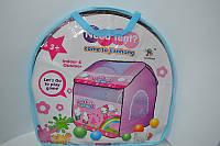Детская игровая палатка Hello Kitty в сумке 102*110*120см