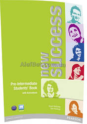 Английский язык / New Success / Student's Book+ActiveBook. Учебник, Pre-Intermediate/ Pearson