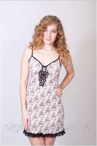 7755da1386b5 Сорочка WIKTORIA (женская одежда для сна, дома и отдыха, домашняя одежда,  ночная