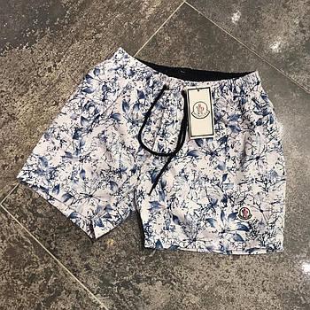 Мужские шорты на резинке Moncler (реплика)
