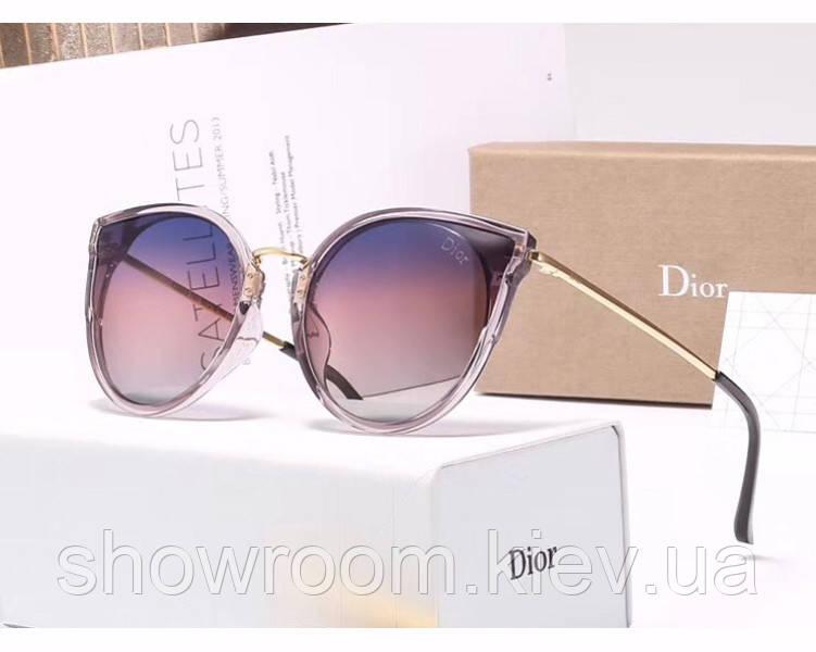 Женские брендовые солнцезащитные очки (29909) , фото 1