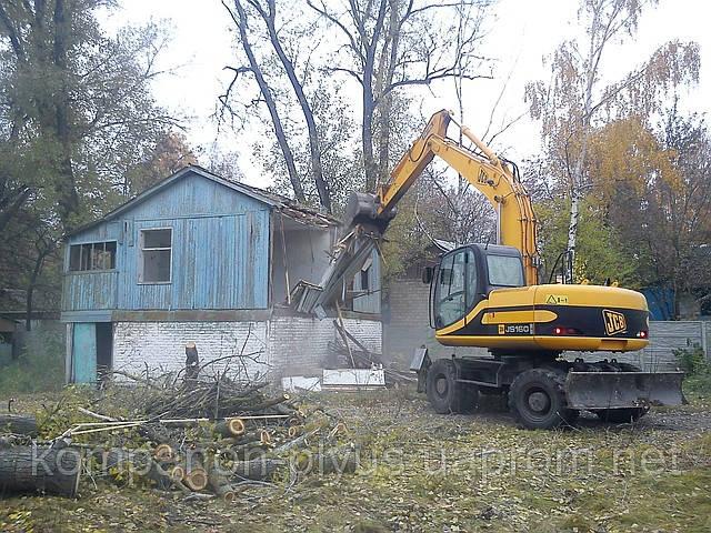 Техніка для знесення будівель Промисловий демонтаж