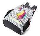 Рюкзак для девочки с единорогом полосатый., фото 3