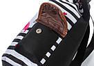 Рюкзак для девочки с единорогом полосатый., фото 6