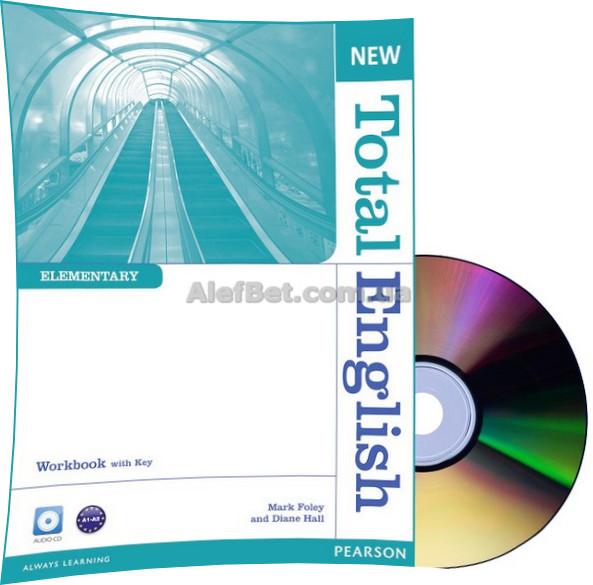 Английский язык / New Total English / Workbook+Key+CD. Тетрадь к учебнику, Elementary/ Pearson