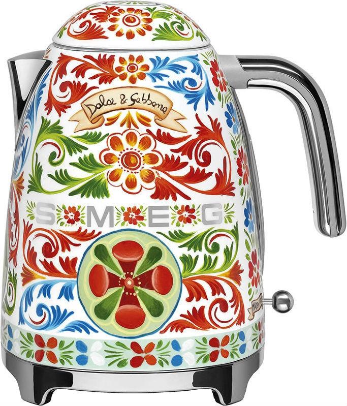 Чайник электрический Smeg KLF03DGEU в стиле D&G Dolce Gabbana