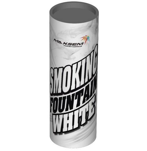 Цветной дым для фотосессий Maxsem 11х4 см белый, Средняя насыщенность