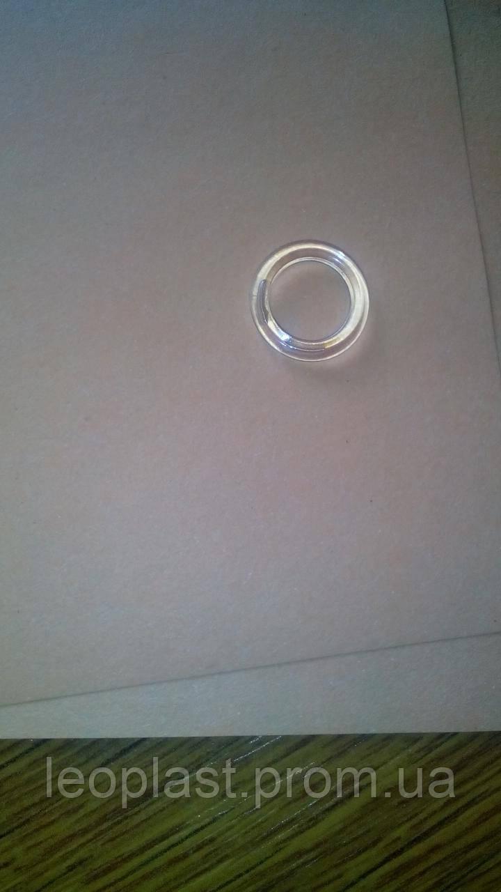 Кольцо для римских штор 8*13 прозрачное