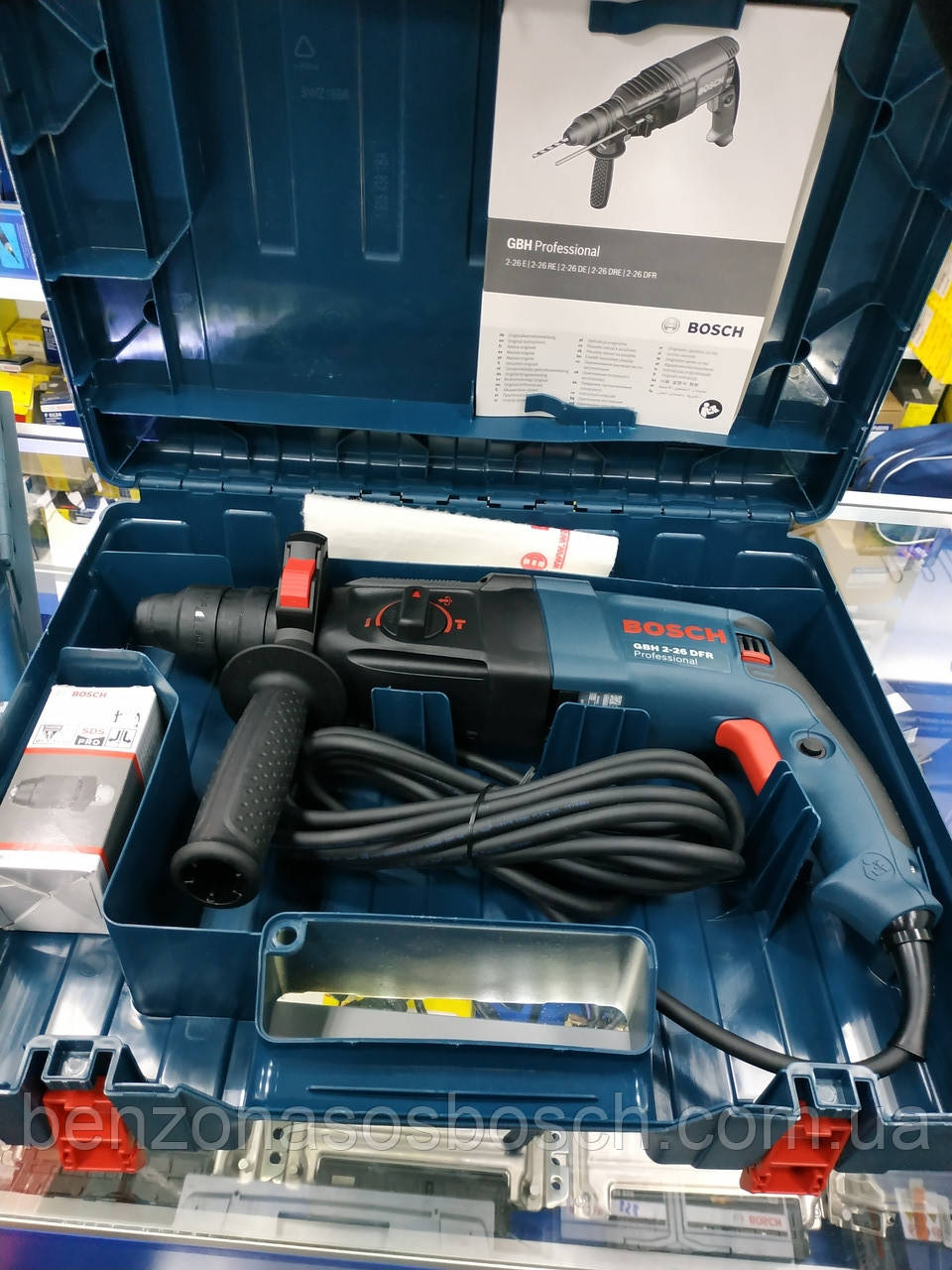 Перфоратор Bosch GBH 2-26 DFR (0611254768) made in Germany