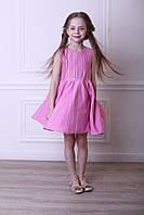 Платье розово-белое для девочки