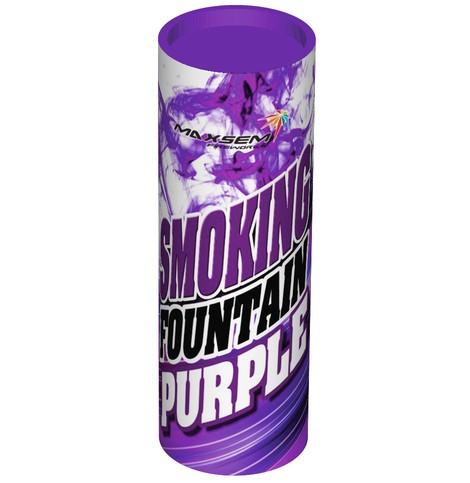 Цветной дым для фотосессий Maxsem фиолетовый средняя насыщенность