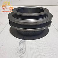 Шкив ЮМЗ водяного насоса 2 ручейный | Д65-1307016, фото 1