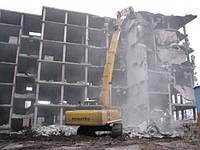 Демонтаж строений Киев