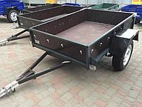 Прицеп бортовой ПГМФ-8302 (1.2х1.7) Хамер фанерный борт, фото 1