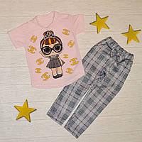 Костюм для дівчинки LOL р.92-98 / Стильный костюм для девочки