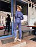 Женский костюм: пиджак с брюками с разным принтом. ОС-8-0419, фото 2