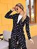 Женский костюм: пиджак с брюками с разным принтом. ОС-8-0419, фото 4