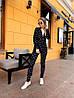 Женский костюм: пиджак с брюками с разным принтом. ОС-8-0419, фото 9